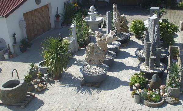 Beautiful springbrunnen garten granit images globexusa for Czernei naturstein